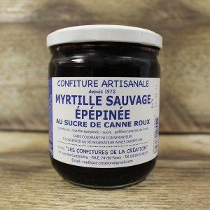 Confiture myrtille sauvage...