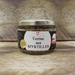 Terrine aux myrtilles